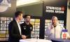 Moderator Dominik Wagerer mit Genadi Petrov und Sportkoordinator für den Frauenfußball Dir. Wolfgang Welser