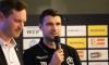 Genadi Petrov stellte im Rahmen des Saison Kick Offs in der vollen VIP Lounge die Ziele der Frauenteams vor