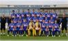 Die Kampfmannschaft des Herbstes der Zweiten Liga