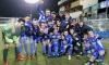Die Mannschaft nach dem Heimsieg im Frühjahr der Regionalliga gegen Amstettten