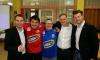 V.l.n.r Patrik Schuch, Pax, Roni, Gerald Berndl und Marc-Kevin Prisching.