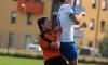 Victoria Grafinger im Luftkampf - sie hat mit 8 Toren als Defensivallrounderin die drittmeisten Horner Treffer erzielt
